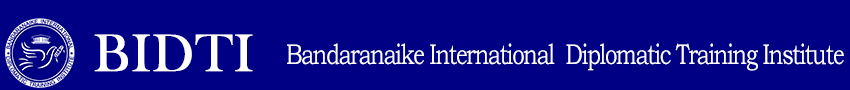 Bandaranaike International Diplomatic Training Institute